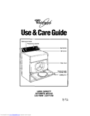 Whirlpool LE5770XW Use And Care Manual
