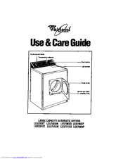 Whirlpool LE5200XT Use And Care Manual