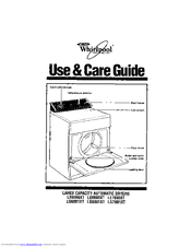 Whirlpool LE6800XT Use And Care Manual
