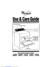 Whirlpool LG7801XS Use And Care Manual