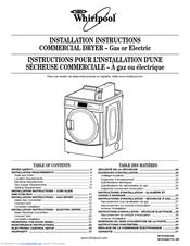 Whirlpool CEM2760 Installation Instructions Manual