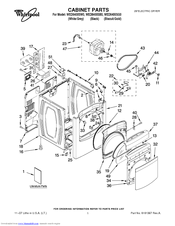 whirlpool cabrio wed6400sw0 manuals Whirlpool Electric Dryer Whirlpool Electric Dryer Troubleshooting