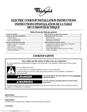 Whirlpool G7CE3034XC User Manual