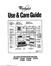 Whirlpool ET22RK Use & Care Manual