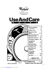 Whirlpool MH9115XE Manuals