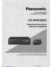panasonic cxdp610euc auto cd changer 6 di manuals rh manualslib com panasonic 5 disc cd changer manual panasonic 6 cd changer manual