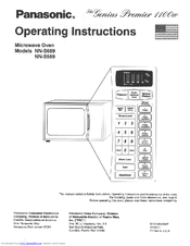 Panasonic NN-S669BA Operating Instructions Manual
