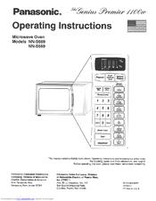 Panasonic NNS669BA Quick Setup Manual