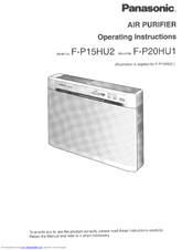 Panasonic F-P15HU Operating Manual