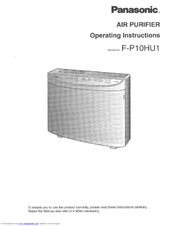 Panasonic FP10HU1 Operating Manual