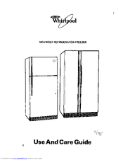 Whirlpool 4YED27DQDN00 Use And Care Manual