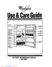 Whirlpool 6ET18GK Use And Care Manual