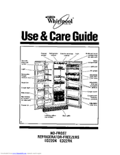 Whirlpool ET18NK Use & Care Manual