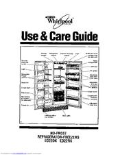 Whirlpool Et18nk Manuals