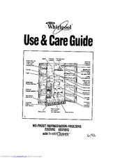 Whirlpool Ed25rq Manuals