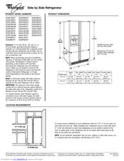 Whirlpool Ed2chqxvq Manuals