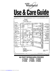 Whirlpool ET20GM Use & Care Manual
