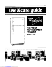 Whirlpool ET20AK Use & Care Manual