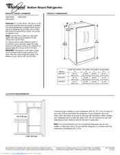 Whirlpool Gi5fsaxv Manuals