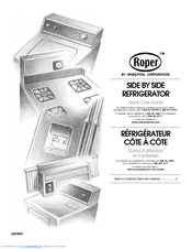 Whirlpool Roper RS25AQXKQ00 Use & Care Manual