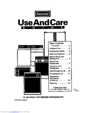Whirlpool TT14DKXBN11 Use And Care Manual