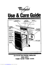 Whirlpool TF8600X Series Use & Care Manual