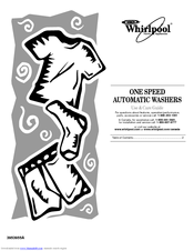 Whirlpool 3953955A Use And Care Manual