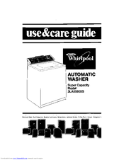 Whirlpool 3LA5580XS Use & Care Manual
