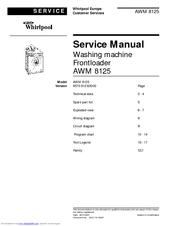 whirlpool awm 8125 manuals rh manualslib com User Webcast User Webcast