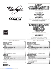 Whirlpool Cabrio W10240441C - SP Use And Care Manual