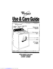 Whirlpool L/MooxT Use & Care Manual
