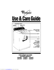 Whirlpool LA6040XT Use & Care Manual