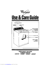 Whirlpool LA5580XT Use And Care Manual