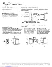 Whirlpool Cabrio Wtw6800w Manuals
