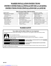 Whirlpool 3957165 Installation Instructions Manual