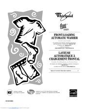 Whirlpool  WFW9550WW Use & Care Manual