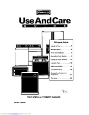 Whirlpool 3366859 Use And Care Manual