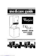 Whirlpool Thin Twin LT5000XM Use & Care Manual