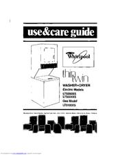 WHIRLPOOL THIN TWIN LT5000XS USE & CARE MANUAL Pdf Download