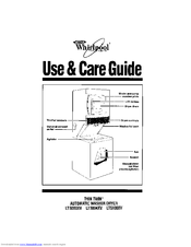 Whirlpool Thin Twin LT5000XV Use & Care Manual