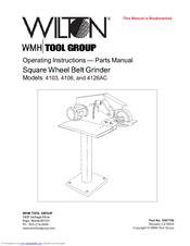 Wilton 4103 Operating Instructions Parts Manual Pdf Download