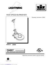 windsor lightning lb2000 manuals