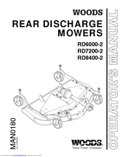 WOODS RD6000-2, RD7200-2, RD8400-2 OPERATOR'S MANUAL Pdf Download