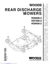 Woods RD8400-2 Operator's Manual