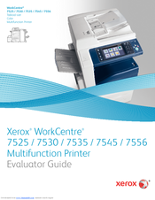 XEROX WORK CENTRE 7525 EVALUATOR MANUAL Pdf Download