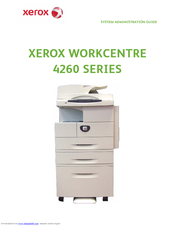 Xerox WorkCentre 4260 Series System Administration Manual