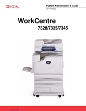 xerox workcentre 7345 manuals rh manualslib com Instruction Manual Book Step by Step Guide