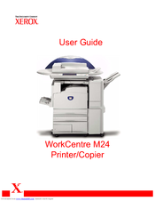 xerox workcentre m24 color manuals rh manualslib com Xerox WorkCentre 7655 Xerox WorkCentre 7655