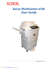 Xerox 4150X - WorkCentre B/W Laser User Manual