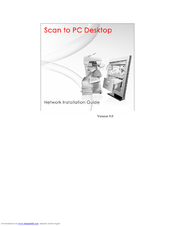 Xerox Scan to PC Desktop v9.0 Network Installation Manual